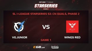 VG.Junior vs Wings Red, Game 1, SL i-League StarSeries Season 3, China