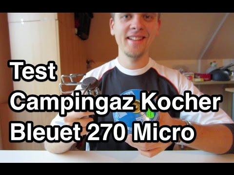 Test Campingaz Bleuet 270 Micro Campingkocher | Campingkocher Test | Camping Gaskocher Test