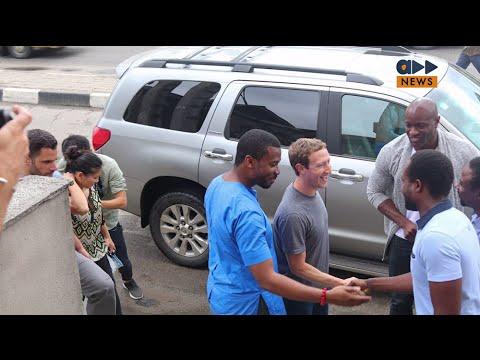 Accelerate News- Facebook founder in Naija with Jidenna