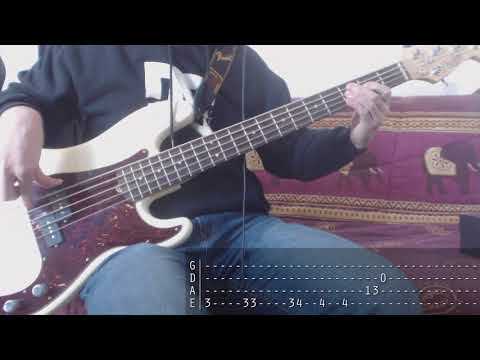 Tribute week to Dolores O'Riordan - 07 - The Cranberries - When You're Gone [Bass Cover + Tab]