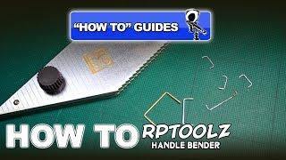 HOW TO USE RPTOOLZ HANDLE MAKER