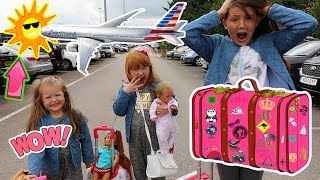 Video SURPRISE HOLIDAY REVEAL AT THE AIRPORT!! MP3, 3GP, MP4, WEBM, AVI, FLV September 2018