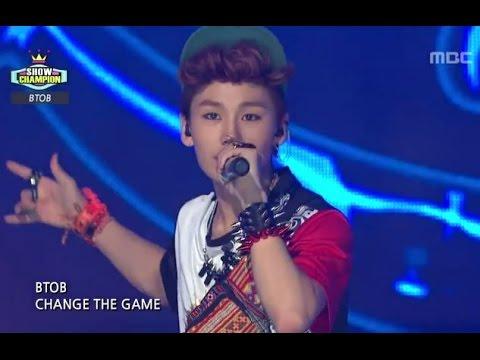 BTOB - WOW, 비투비 - 와우, Show Champion 20120925 (видео)