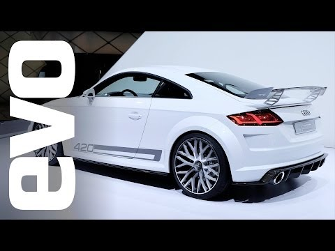 Shows - We take a look at the Audi TTS, TT Quattro Sport, S3, S1, RS2 and RS4 at Geneva 2014. For the full story, click here: http://bit.ly/1fKZWZ3 For more Geneva s...