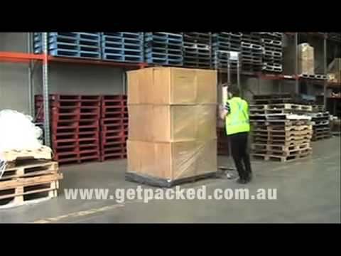 Roche Wrappa Demo 1 from Get Packed Sydney Australia
