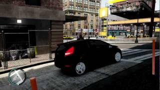 [GTA 4] Review : Ford Fiesta 2009. HD
