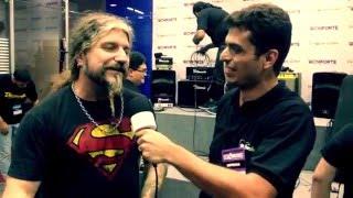 Entrevistando os guitarristas Marcos De Ros, Cauê Cury e Marcio Sanches