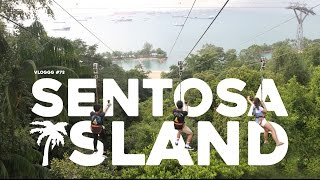 Video TRAVEL-VLOGGG #73: SINGAPORE - 1/2 KM FLYING FOX RIDE MP3, 3GP, MP4, WEBM, AVI, FLV Agustus 2017