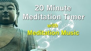 Download Lagu 20 Minute Meditation Timer with Soft Relaxing Meditation Music Mp3
