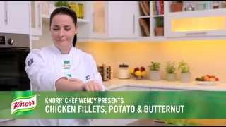 Chicken Fillets, Potato and Butternut