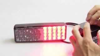 Замена штатных фонарей на Fristom LED