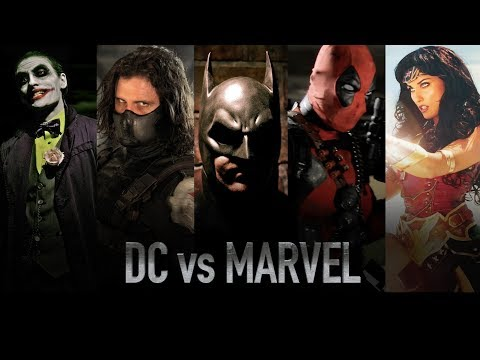 DC vs. Marvel - Live Action Battles