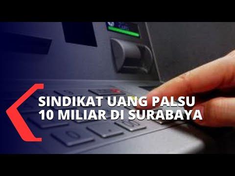 Sindikat Uang Palsu di Surabaya: Rp 10 Miliar Hampir Siap Diedarkan