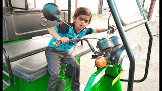 छोटू की खटारा रिक्शा   CHOTU ki KHATARA   Khandesh Hindi Comedy   Chotu Comedy Video