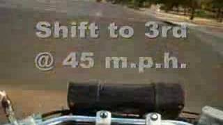 4. Sprocket change on Honda Shadow Spirit 750dc