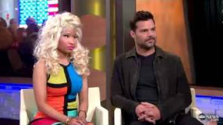 Nicki Minaj, Ricky Martin On Madonna Super Bowl Halftime Show, Grammys, 'Evita' And AIDS On 'GMA'