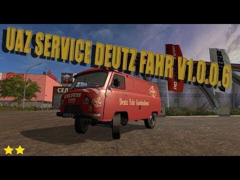 UAZ Service Deutz Fahr v1.0.0.6