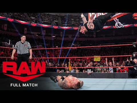 FULL MATCH - Kevin Owens vs. Randy Orton: Raw, Feb. 24, 2020