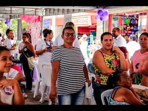 Mês da Mulher: Prefeitura leva Feira de Serviços ao Centro