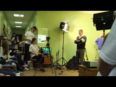 Студенческое телевидение ВятГУ в молодёжном лагере «Старт»