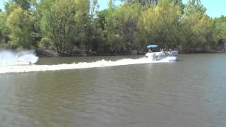9. Pontoon ski test- How much power is enough.