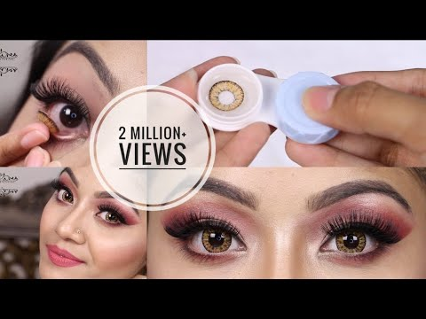 How to Put On Contact Lenses and Remove + Tips on How to Store Contact Lenses