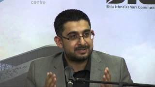 01- Muharram 1436  Ali Reza Bhojani, Dr. - 1st Night Towards Godliness - Islam as a means not an end