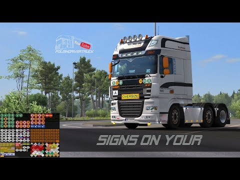 Signs on your Truck [v1.0.90.7]