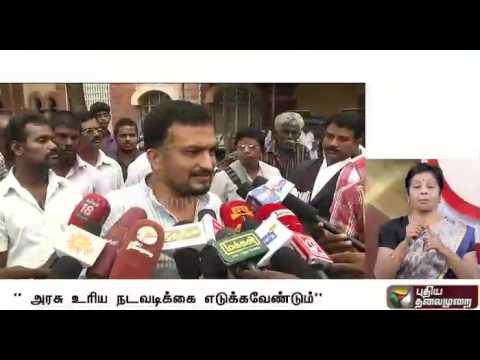 Security-of-prisoners-under-risk-in-TN-says-green-activist-Piyush-Manush