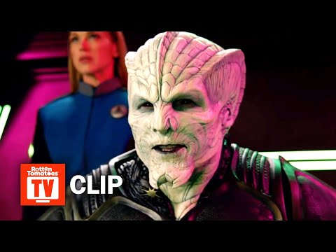 The Orville S02E08 Clip | 'The Crew Battle The Kaylon In Space' | Rotten Tomatoes TV