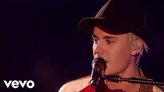 Justin Bieber - Love Yourself & Sorry - Live at The BRIT Awards 2016 ft. James Bay