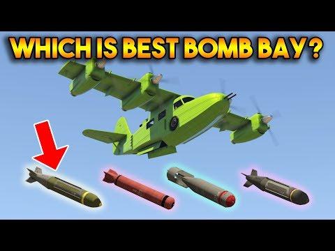 GTA 5 ONLINE : EXPLOSIVE VS INCENDIARY VS GAS VS CLUSTER (WHICH IS BEST BOMB BAY?)