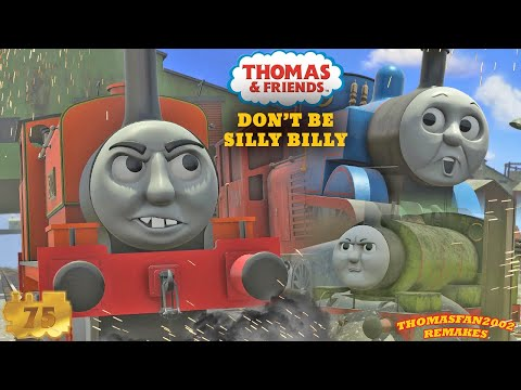 Don´t Be Silly Billy REVAMPED + BONUS FEATURE: Percy's Exciting News | Trainz Remakes