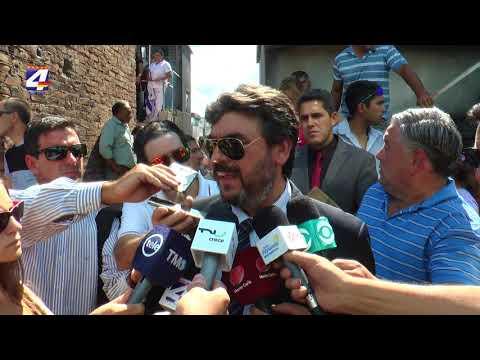 Director Nacional de Policía presente en el sepelio del agente asesinado en Quebracho