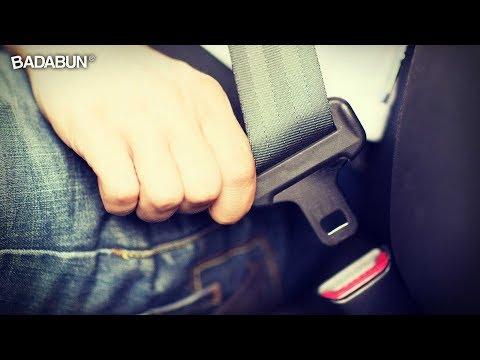 Peligros de no usar el cinturón. Compártelo con alguien que amas