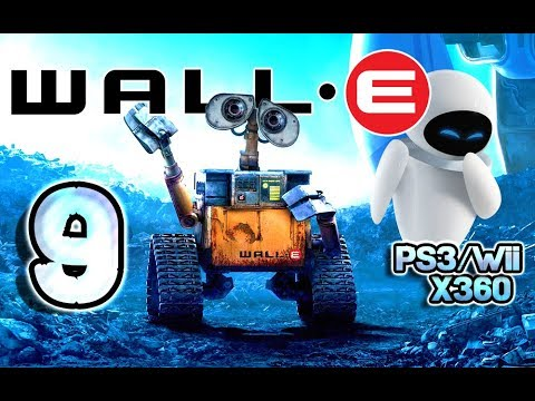 Wall-E Walkthrough Part 9 (PS3, X360, Wii) Level 8 ~ Captain's Orders (видео)