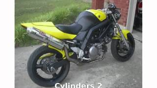 3. 2005 Suzuki SV 650 Walkaround and Specification