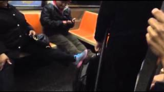 Raw: Video Shows Rat Terrifying NYC Subway