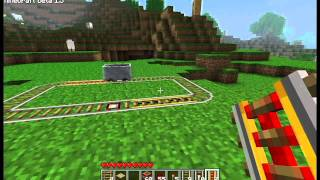 Minecraft Update - Beta 1.5 - Power Rail, Detector Rail, Weather, etc.