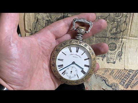 карманные часы DOXA #shorts антиквариат poc… видео