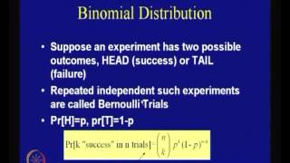 Mod-01 Lec-04 Probability And Information Theory