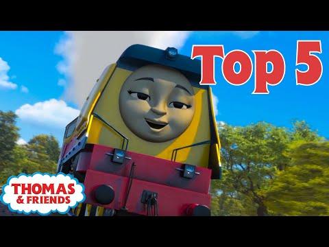 Thomas & Friends UK™ | Top 5 Coolest Engines! | Best of Thomas Highlights | Kids Cartoon