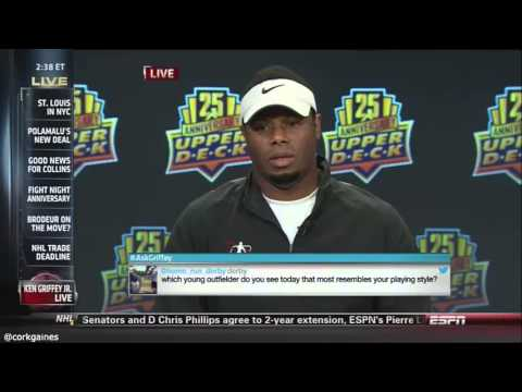 Ken Griffey Jr gives, possibly, the worst interview ever.