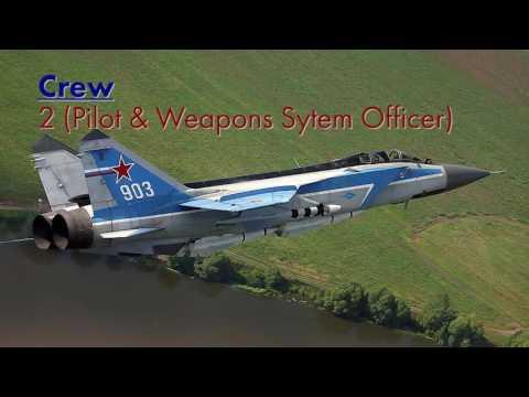 The Mikoyan MiG-31 (NATO codename...