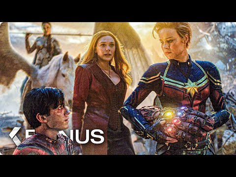 Female Avengers Unite in Final Fight - AVENGERS 4: Endgame Bonus Clip (2019)