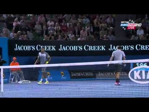 ◆Roger Federer and fellows - 7 - funny moments - Be Happy!
