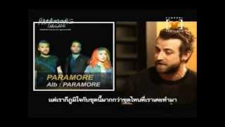 Channel V Thailand Spotlight Artist The Interview With Jeremy Davis From Paramore
