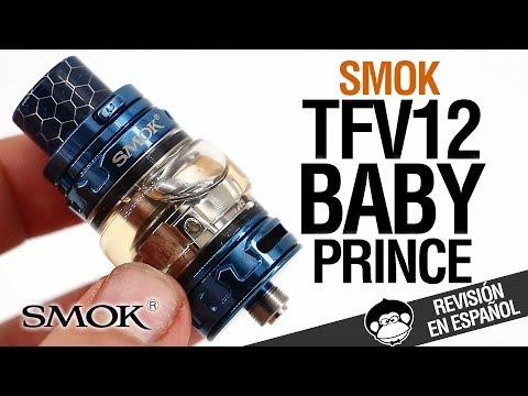 Smok TFV12 BABY Prince / ¡¡Con resistencias DE MALLA!! / revisión (видео)
