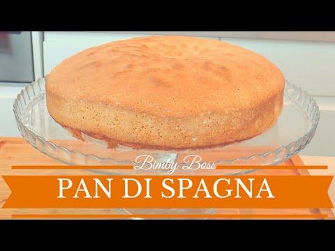 video ricetta: bimby - il pan di spagna
