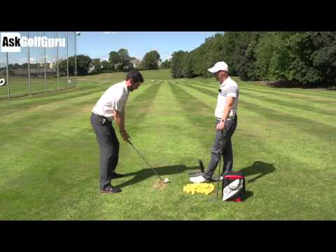 Golf Swing Lower Body Turn Lesson